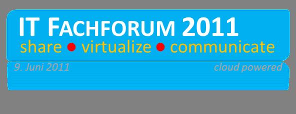 IT Fachforum 2011
